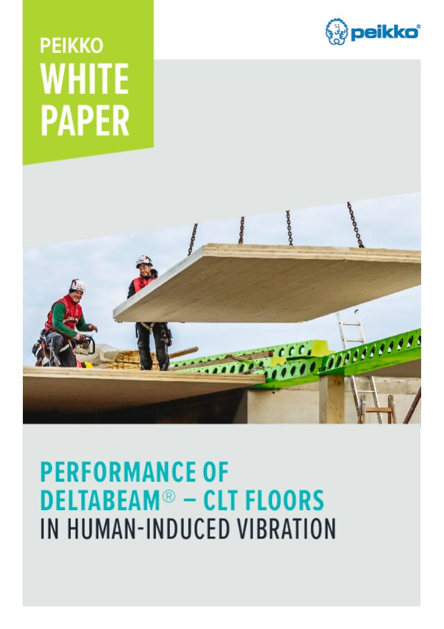 Performance of DELTABEAM<sup>®</sup> – CLT floors in human-induced vibration