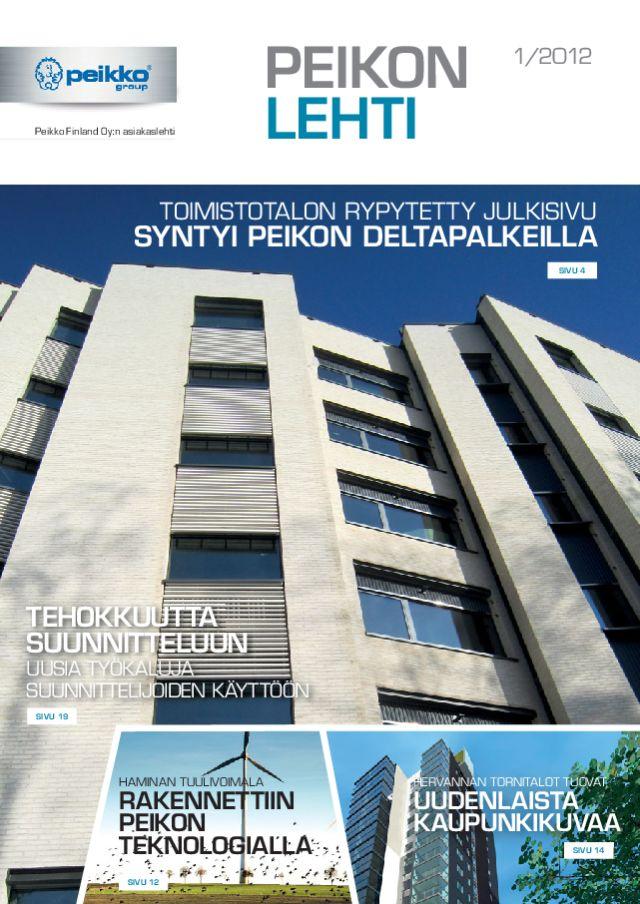 Peikon Lehti 1/2012