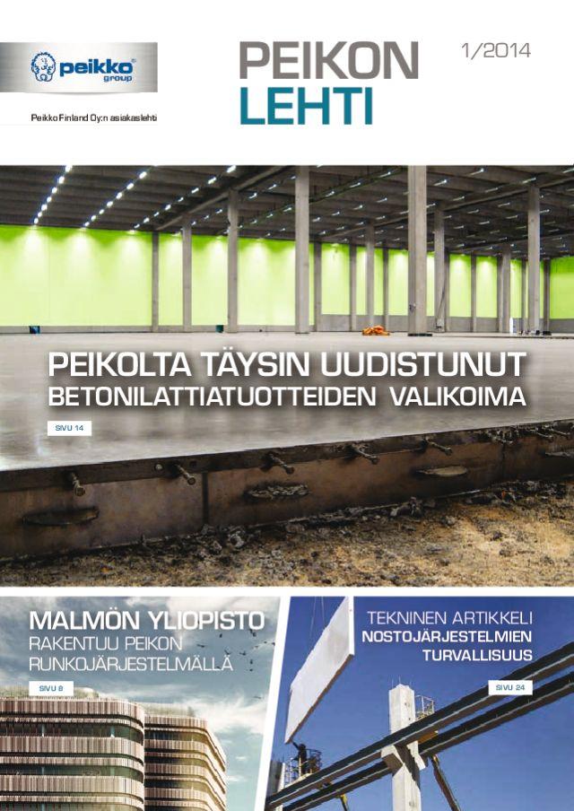 Peikon Lehti 1/2014