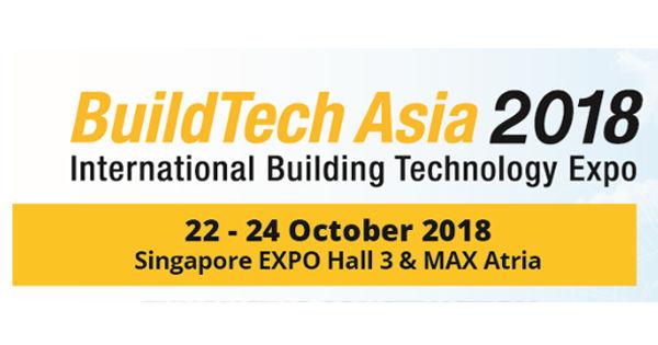 BuildTech Asia 2018, Singapore
