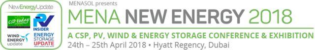 MENA New Energy 2018, Dubai, UAE