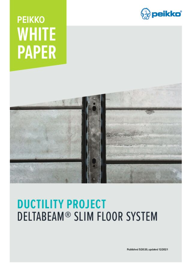 Ductility Project – DELTABEAM<sup>®</sup> Slim Floor System