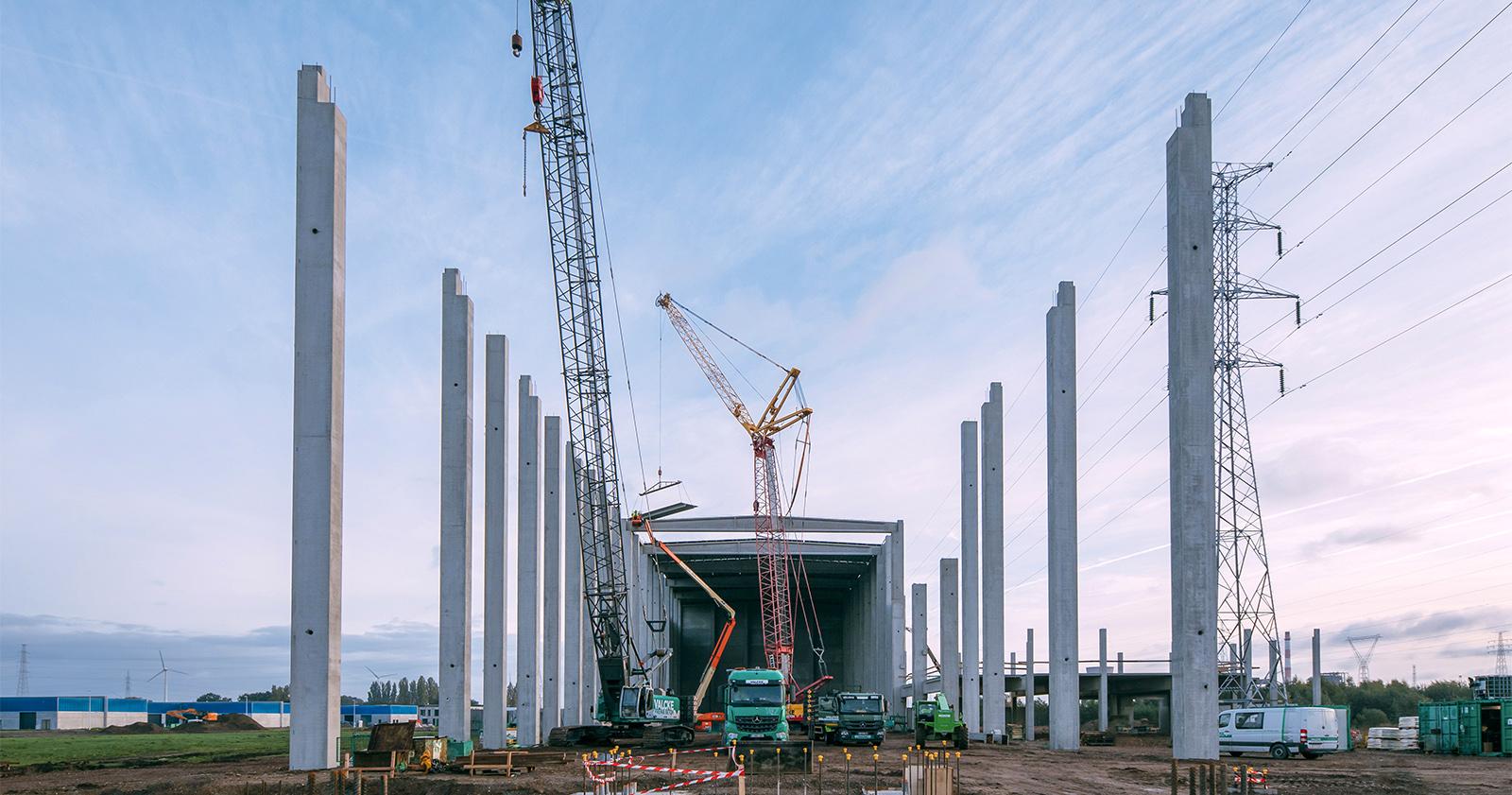 Seaport Brewing production facility, Evergem, Belgium