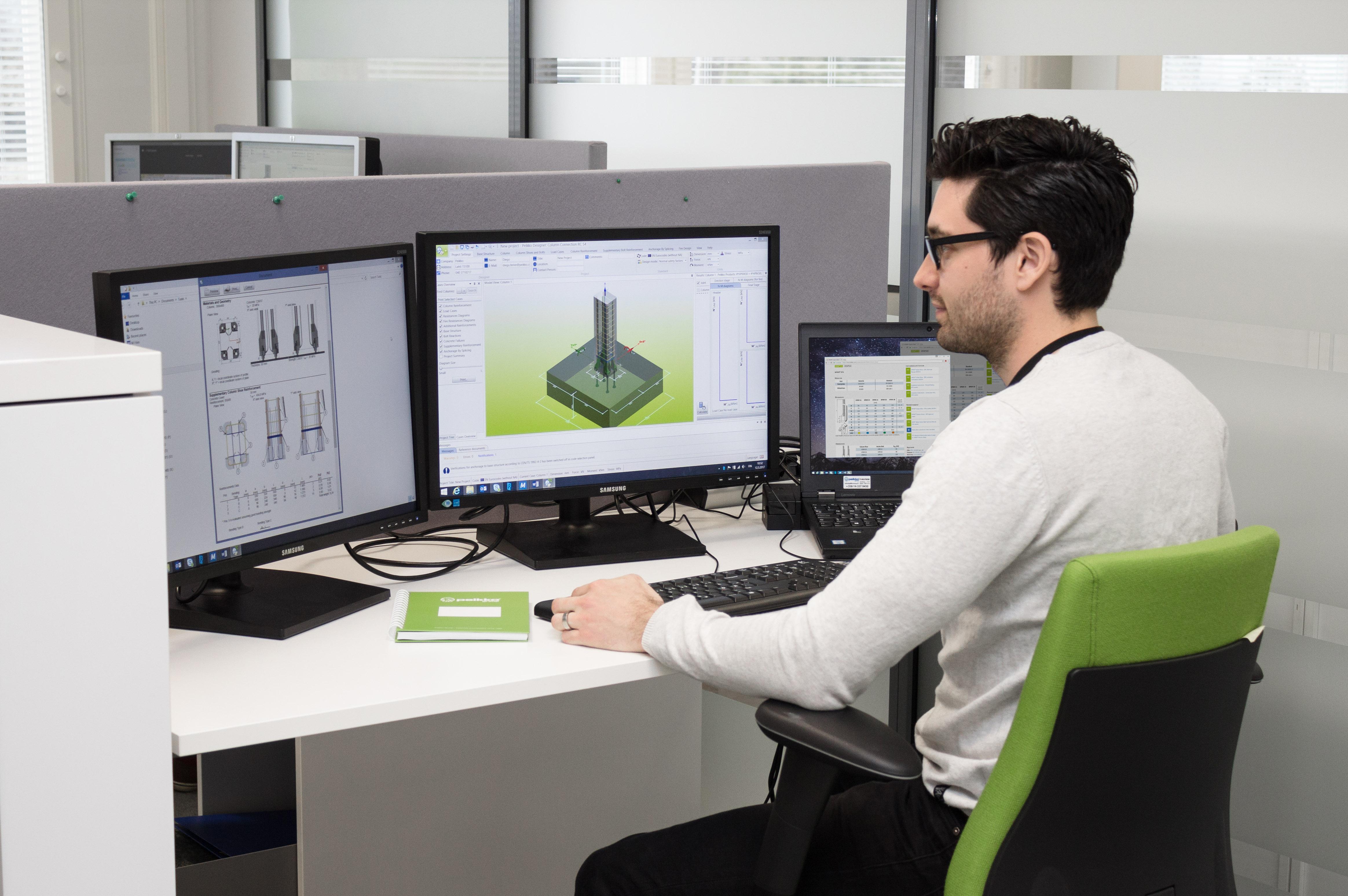 Peikko Designer suunnitteluohjelma rakennesuunnittelijoille