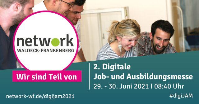 Digitale Job- und Ausbildungsmesse 2021, Online